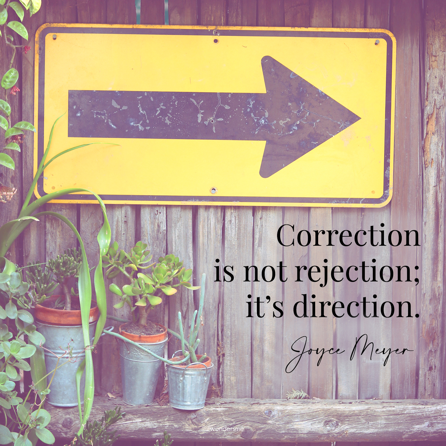 Correction is not rejection