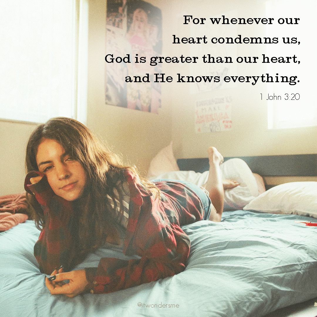 God is greater than our hearts