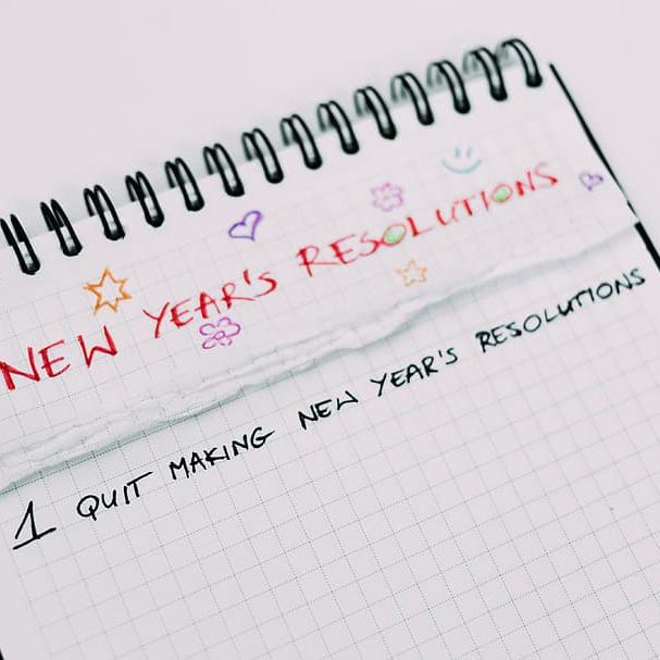 New Year's Resolution list 2020