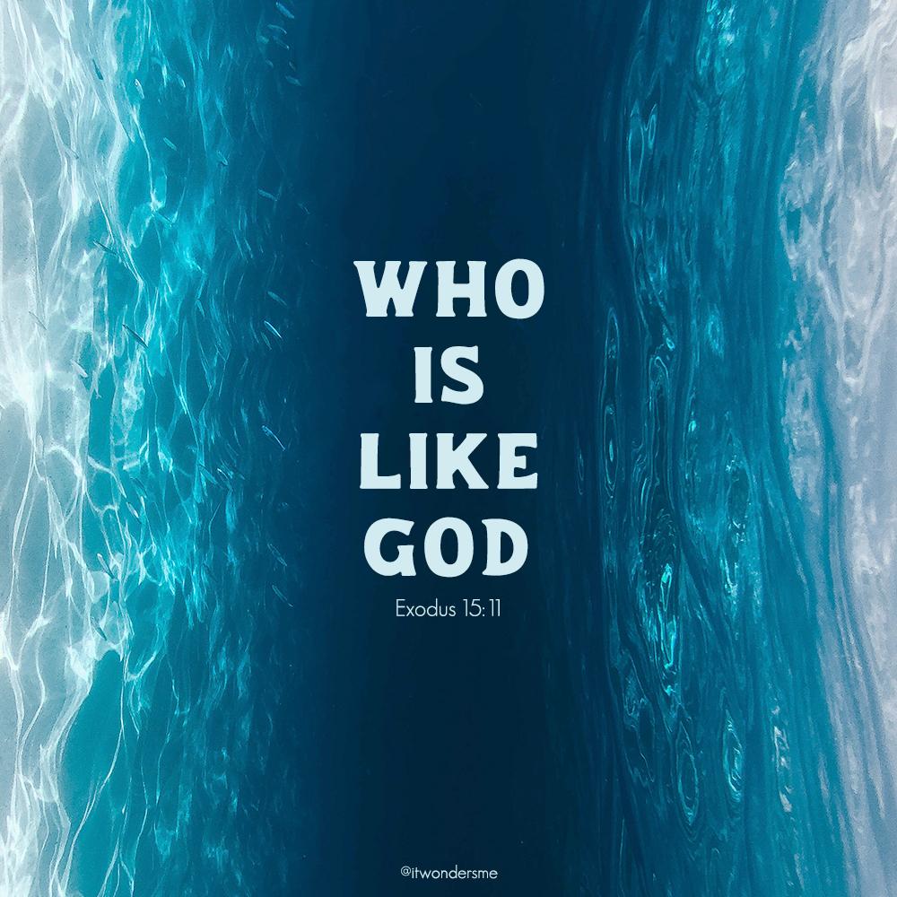 Who is like God